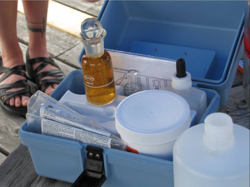 Figure 3. Hach® Dissolved Oxygen Test kit